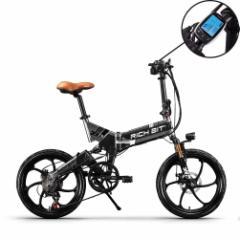 【新春祝市 初売りセール 5倍ポイント還元】RICH BIT TOP730α Gray 自転車機能+電動バイク機能の次世代ハイブリッドバイク モペット