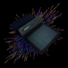 Hanergy 16W ソーラーチャージャー,超軽量薄型携帯用充電器,スマートチップソーラーパワーバンク,for iPhone,iPad,HTC,Galaxy