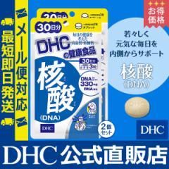 dhc サプリ 【お買い得】【メーカー直販】 核酸 (DNA) 30日分 2個セット | サプリメント メール便対応 即日発送