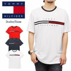 【メール便】トミー ヒルフィガー TOMMY HIFIGER Tシャツ・カットソー メンズ アパレル 綿 かっこいい ロゴ ワンポイント ブランド 男性