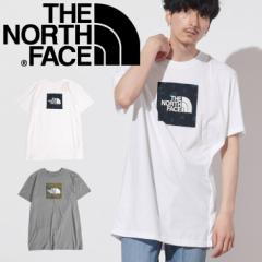 ザノースフェイス THE NORTH FACE Tシャツ・カットソー メンズ アパレル おしゃれ かっこいい 綿 ボックスロゴ アウトドア キャンプ ロゴ