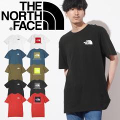 ザノースフェイス THE NORTH FACE Tシャツ・カットソー メンズ アパレル おしゃれ かっこいい 綿 ボックスロゴ ロゴ ワンポイント ブラン