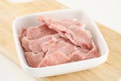 米国産 ターキーモモ バラ凍結カット 500g  七面鳥 犬 生肉