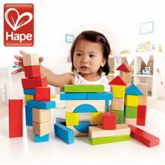 ・★訳あり★Hape/ハペ【E0409】メープルブロック 50ピース/木のおもちゃ