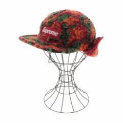 Supreme  / シュプリーム メンズ 帽子 色:赤系×緑系×オレンジ系(総柄) サイズ:S/M