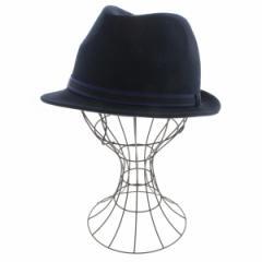 FRED PERRY  / フレッドペリー メンズ 帽子 色:青系 サイズ:L(59cm)