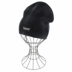 Supreme  / シュプリーム メンズ 帽子 色:黒xグレー(総柄) サイズ:-