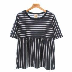 CIAOPANIC  / チャオパニック レディース Tシャツ・カットソー 色:白系×紺系(総柄) サイズ:F