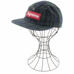 Supreme  / シュプリーム メンズ 帽子 色:紺系x緑系(チェック) サイズ:-