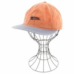 Supreme  / シュプリーム メンズ 帽子 色:グレー系xオレンジ系 サイズ:-