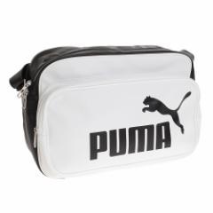 プーマ(PUMA)エナメルバッグ Mサイズ 075370-03 WHT (Men's、Lady's、Jr)
