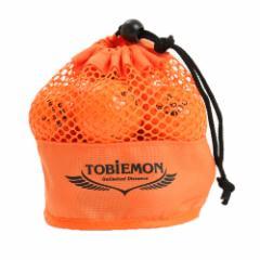 トビエモン(TOBIEMON)ゴルフボール TOBIEMON(トビエモン) メッシュバッグ入り オレンジ 12球入り TBM-2MBO (Men's、Lady's、Jr)