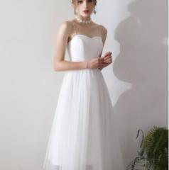 9f44d2ff12bd8 ウエディングドレス チュール ウェディングドレス 白 二次会 花嫁 カラードレス ウェディング ドレス マタニティウエディングドレス チュ