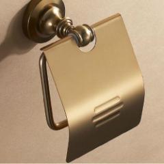 送料無料 トイレットペーパーホルダー アンティーク おしゃれ 金属 スチール アイアン ゴールド  カフェ インテリア トイレ