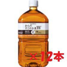 〔12本セット)コカコーラからだすこやか茶W1.05Lペットボトル ×12本
