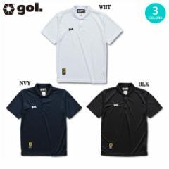 【ネコポス対応可能】gol/ゴル ドライポロシャツ 【全3色】G795-612  (フットサル メンズ ウ