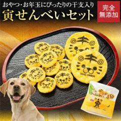 【先行予約】犬用 無添加・有機 おやつ(干支・寅年・寅 せんべい)2022年・犬 おせち と一緒にどうぞ