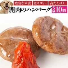 犬用 手作りご飯(鹿肉 ハンバーグ 5袋)無添加 国産【冷凍】