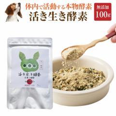 犬・ペット用 サプリ(活き生き 酵素 100g)無添加 【メール便 送料無料】