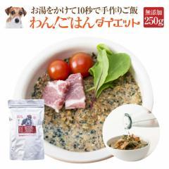 犬用 無添加 ドッグフード(わん!ごはん ダイエット 250g)体重管理・肥満な犬の手作りご飯【通常便 送料無料】