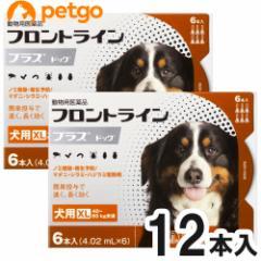 【200円OFFクーポン】【2箱セット】犬用フロントラインプラスドッグXL 40kg〜60kg 6本(動物用医薬品)