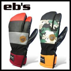 【ebs-エビス】 HARUSAKI-TRIGGER  SNOWBOARD GLOVES 2015-2016  【スノーボード用品/グローブ/手袋】