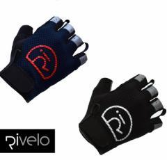 【送料無料】【30%OFF】Rivelo(リヴェロ)Burwayサイクリンググローブ M/Lサイズ ネイビー/レッド