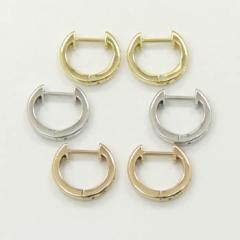 クリップピアス18金ピンクゴールド/18金ホワイトゴールド/18金ゴールド3種類からお選びいただけます。開閉式