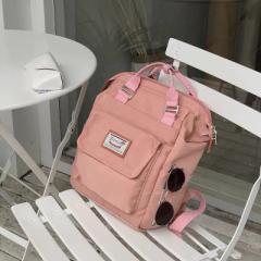 ショルダーバッグレディースキャンバスバッグアウトドアキャンバスバッグハンドバッグ対角パッケージ大容量人気バッグ斜め肩の通勤学校