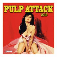 カレンダー 2019年 パルプアタック PULP ATTACK 壁掛け カレンダー TUSHITA インテリア平成31年 暦 通販  予約