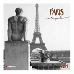 カレンダー 2019年 パリ レトロ PARIS RETRO 壁掛け カレンダー TUSHITA インテリア平成31年 暦 通販  予約