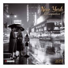 カレンダー 2019年 ニューヨーク レトロ NEW YORK RETRO 壁掛け カレンダー TUSHITA インテリア平成31年 暦 通販  予約