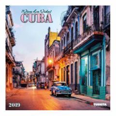 カレンダー 2019年 キューバ CUBA 壁掛け カレンダー TUSHITA インテリア平成31年 暦 通販  予約