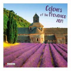 カレンダー 2019年 南仏プロヴァンス COLOURS OF PROVENCE 壁掛け カレンダー TUSHITA インテリア平成31年 暦 通販  予約
