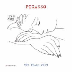 カレンダー 2019年 ピカソ PICASSO 壁掛け カレンダー TUSHITA インテリア平成31年 暦  予約 cp100