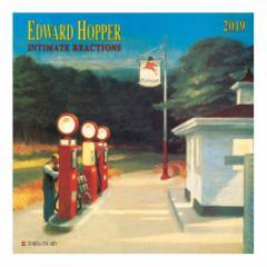 カレンダー 2019年 エドワードホッパー Edward Hopper 壁掛け カレンダー TUSHITA インテリア平成31年 暦  予約 cp100