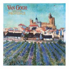 カレンダー 2019年 ゴッホ VAN GOGH Colours of the Provence 壁掛け カレンダー TUSHITA インテリア平成31年 暦  予約 cp100