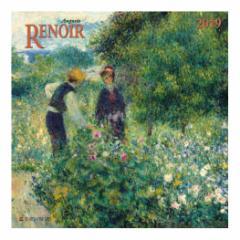 カレンダー 2019年 ルノワール Auguste Renoir 壁掛け カレンダー TUSHITA インテリア平成31年 暦 通販  予約