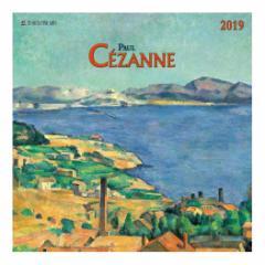カレンダー 2019年 セザンヌ Paul Cezanne 壁掛け カレンダー TUSHITA インテリア平成31年 暦 通販  予約