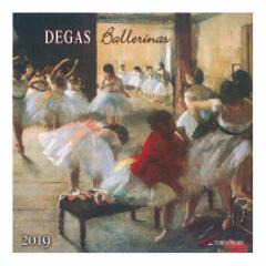 カレンダー 2019年 エドガードガ Edgar Degas 壁掛け カレンダー TUSHITA インテリア平成31年 暦 通販  予約