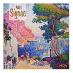 カレンダー 2019年 ポールシニャック Paul Signac 壁掛け カレンダー TUSHITA インテリア平成31年 暦 通販  予約