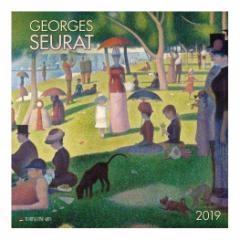 カレンダー 2019年 スーラ Georges Seurat 壁掛け カレンダー TUSHITA インテリア平成31年 暦 通販  予約