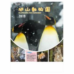 予約  壁掛け 2019 カレンダー 旭山動物園 カレンダー スケジュール 動物 写真 トーダン平成31年暦 cp100