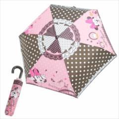 ミニーマウス 折畳傘 折りたたみ傘 ファッション ディズニー キャラクター グッズ