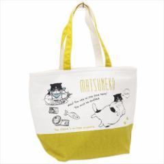 マツネコ 保冷バッグ トート型保冷ショッピングバッグねこ お買い物かばんグッズ通販
