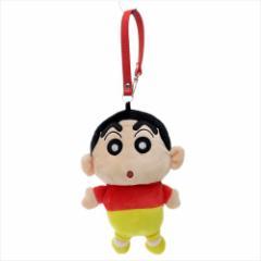クレヨンしんちゃん ミニポーチ ぬいぐるみポーチ しんのすけ  アニメキャラクターグッズ通販