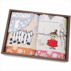 ムーミン タオルギフト ウォッシュタオル 2枚セット ムーミン谷の日々 北欧 キャラクターグッズ通販