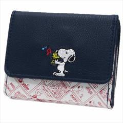 スヌーピー レディース財布 二つ折りミニ財布 ミュージック ピーナッツ キャラクターグッズ通販