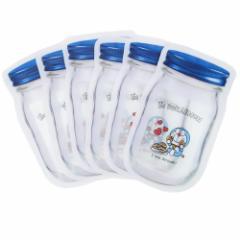 ドラえもん 自立 保存袋 スタンド ジッパーバッグ S 6枚セット どら焼き サンリオ アニメキャラクターグッズ通販 メール便可