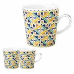 取寄品 マグカップ 3個セット マグ ブルー オン・ザ・テーブル オリエンタル 日本製新生活 インテリア 生活雑貨通販
